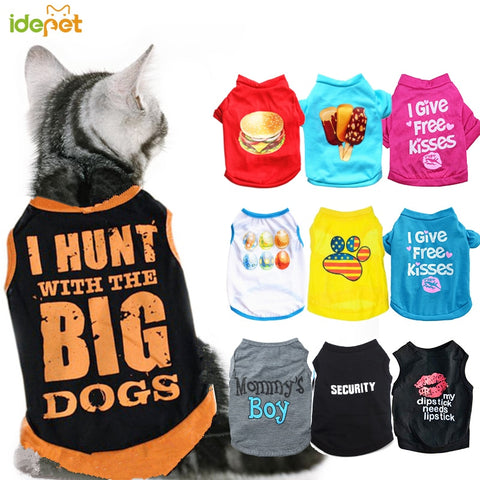 Summer Pet Clothes for Cats