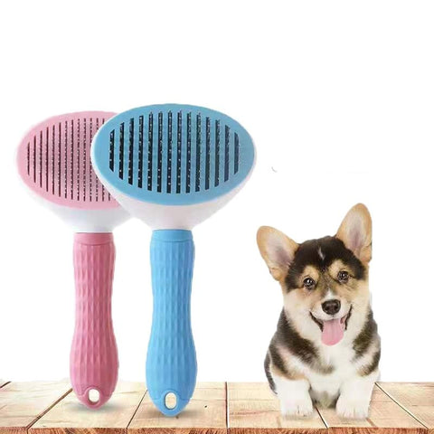 Dog Hair Removal Grooming Brush