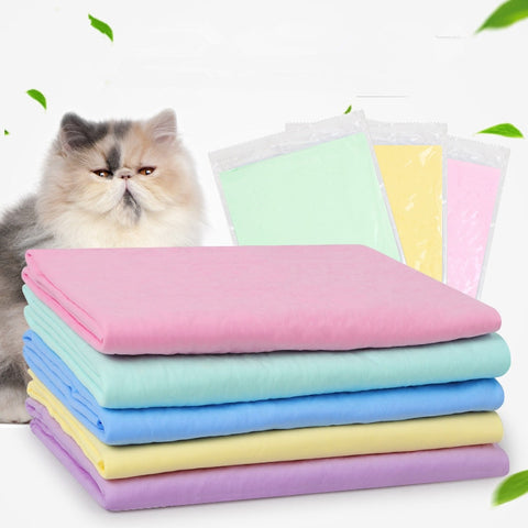 Lovely Pet Cats Super Absorbent Washable Towels