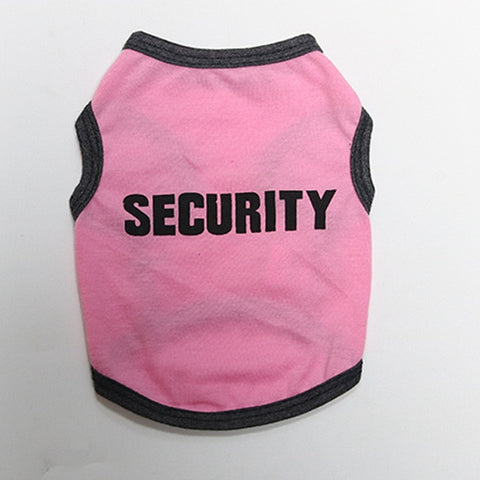 Cute Dog Fashion Vest