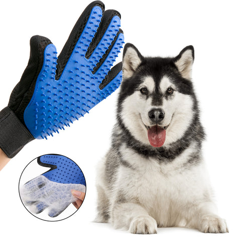Silicone Pet Dog Deshedding Glove
