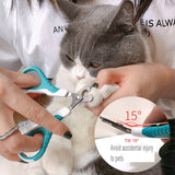 Stainless Pet Nail Claw Grooming Scissors
