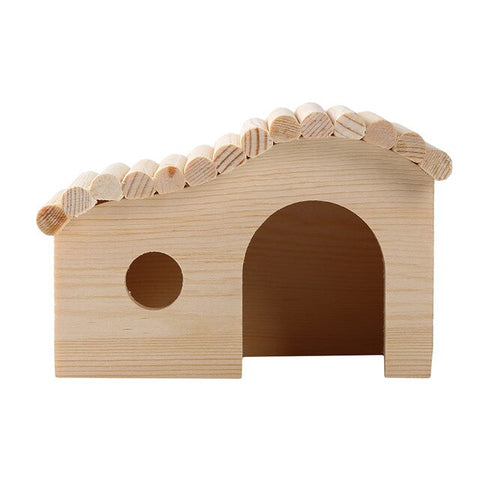 Small Pet Wooden Nontoxic Small Solid Durable Pet House
