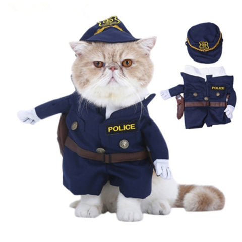 Funny Pet Cat Costume Suit