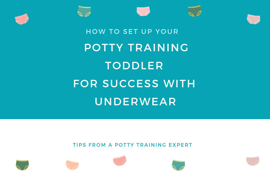 How to Set Up Your Potty Training Toddler for Success With Underwear