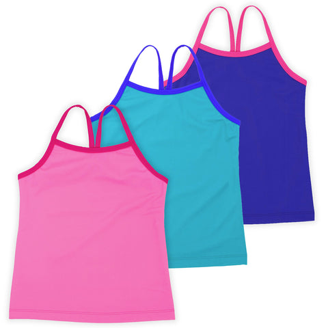 Ella Girls Tank Tops (3-Pack)