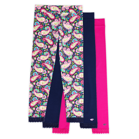 Jada Girls Leggings (3-Pack)
