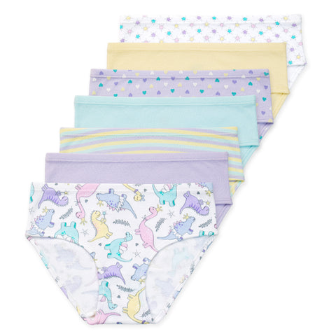 Gracie Girls Organic Cotton Briefs (7-Pack)