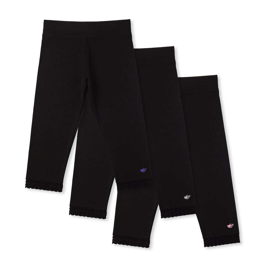 Jada Girls Capri Leggings (3-Pack)