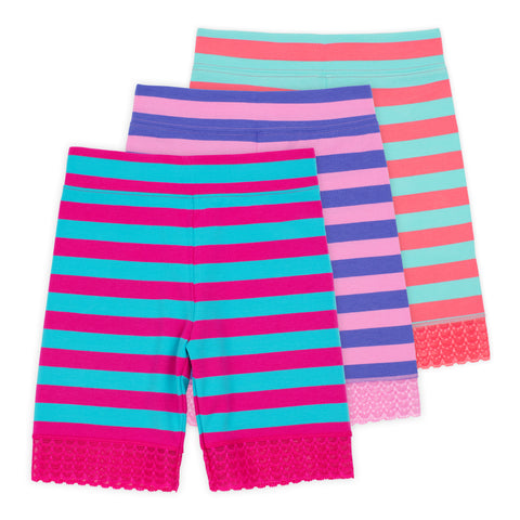 Jada Girls Bike Shorts (3-Pack)