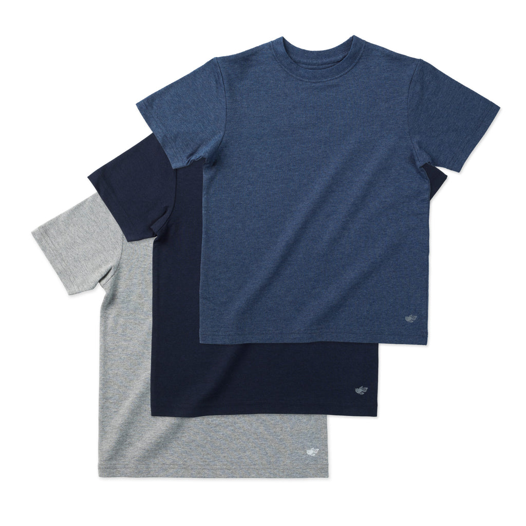 Logan Classic Boys Tee Shirts (3-Pack) Essential