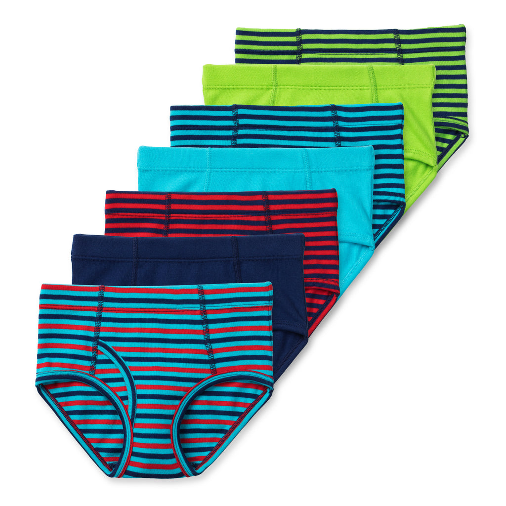 Nolan Boys Organic Cotton Briefs (7-Pack)
