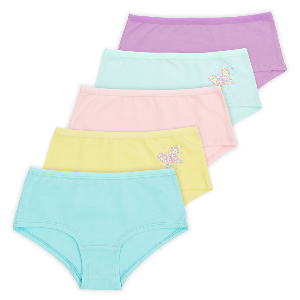 Girls Boyshorts - Pastel