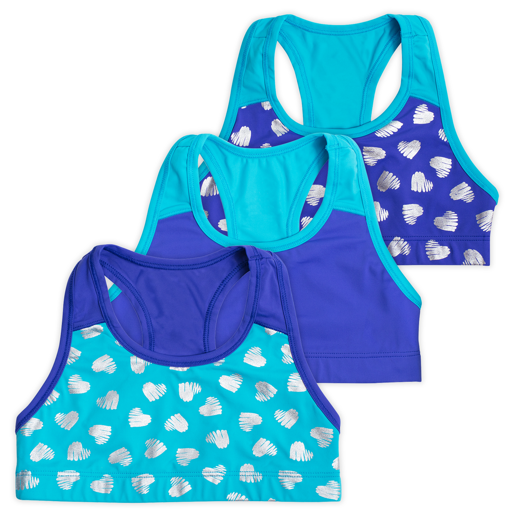 Layla Girls Racerbacks (3-Pack)
