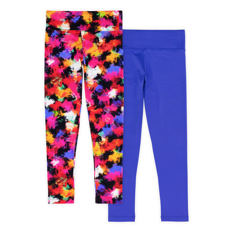 Madisyn Girls Athletic Leggings (2-Pack)