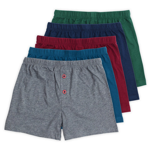 Noah Boys Knit Boxers (5-Pack)
