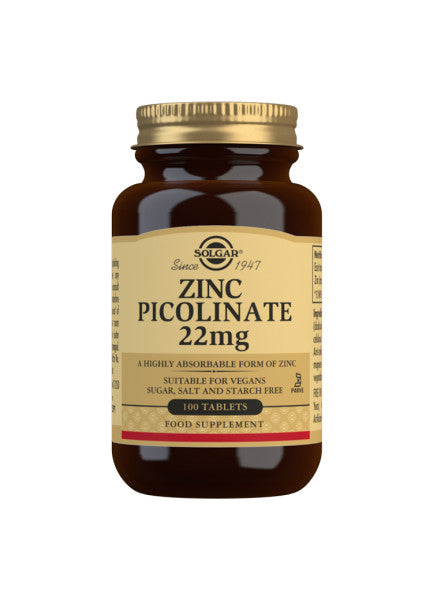 Solgar-Zinc Picolinate 22mg