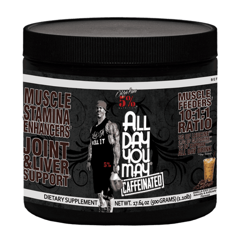 5% Nutrition- All Day You May Caffeinated