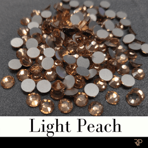 Light Peach Crystal Color Rhinestone (10 Gross Pack)