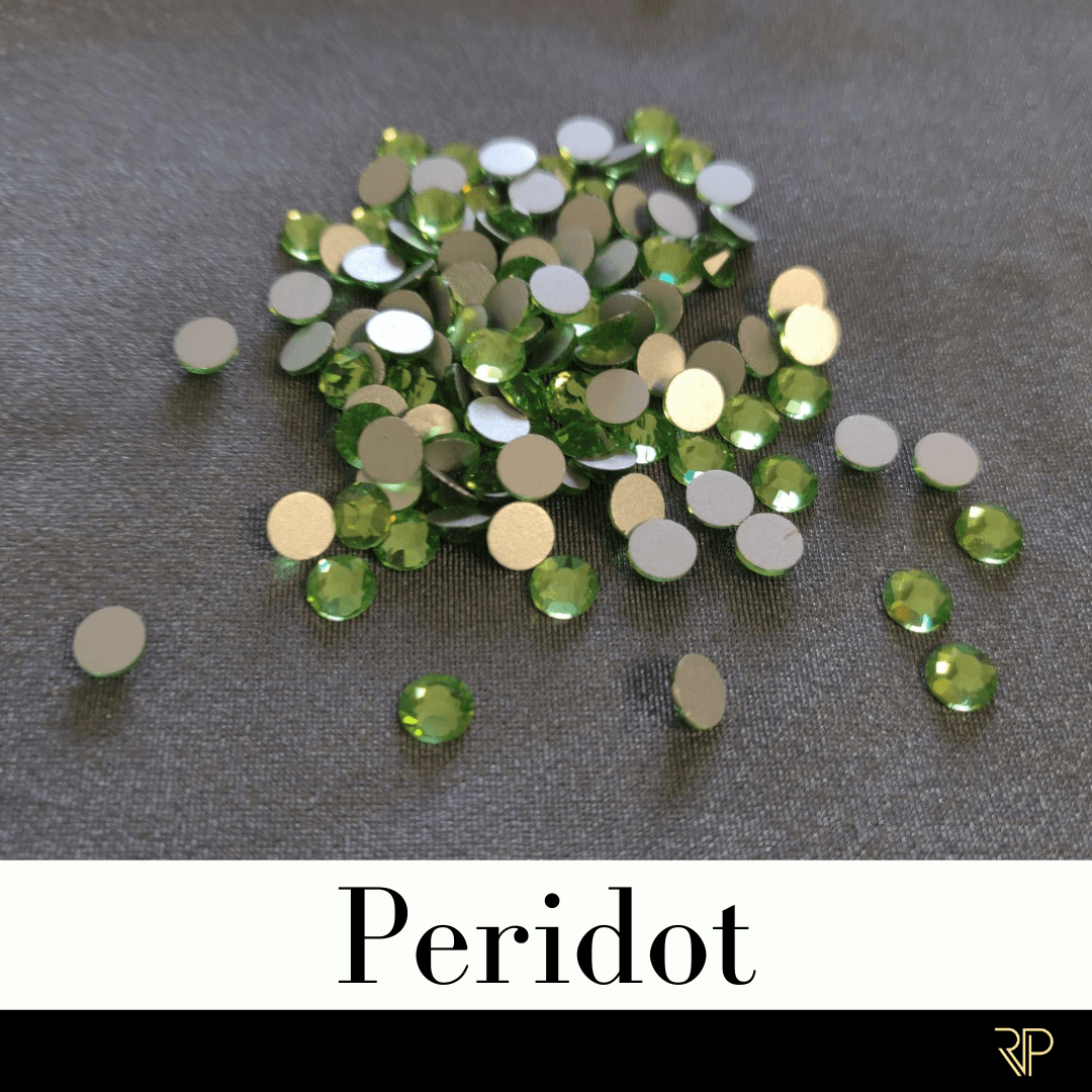 Peridot Crystal Color Rhinestone (10 Gross Pack)