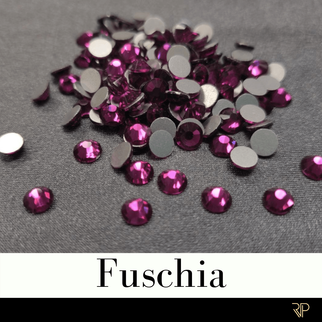 Fuschia Crystal Color Rhinestone (10 Gross Pack)
