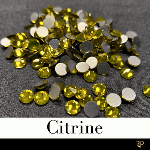 Citrine Crystal Color Rhinestone (10 Gross Pack)