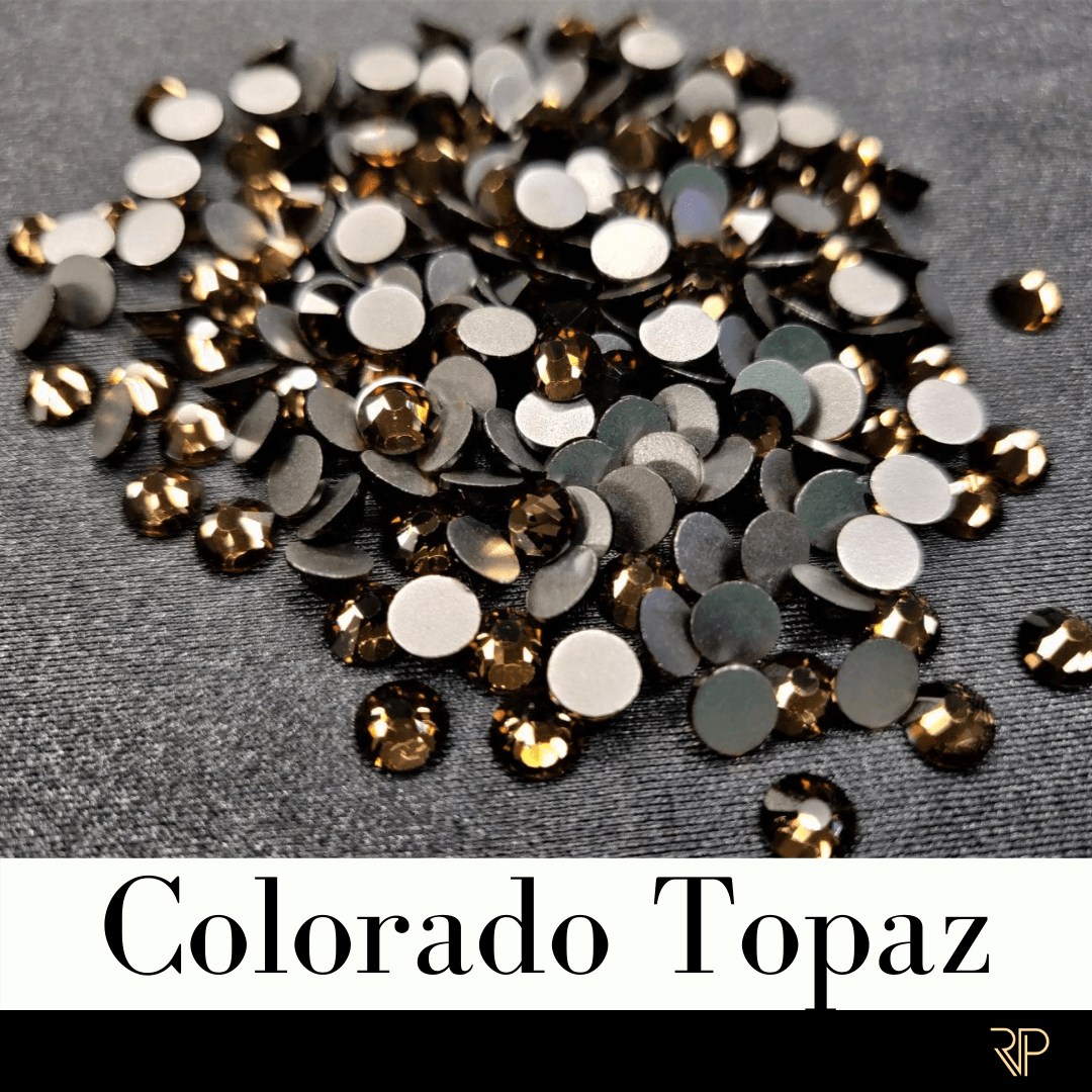 Colorado Topaz Crystal Color Rhinestone (10 Gross Pack)