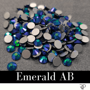 Emerald AB Crystal Color Rhinestone (10 Gross Pack)