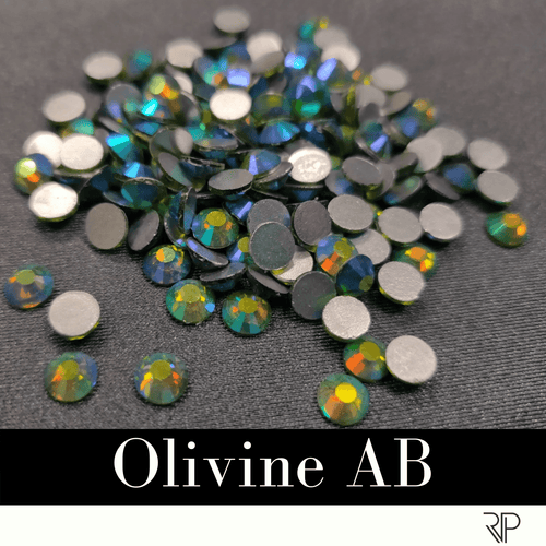 Olivine AB Crystal Color Rhinestone (10 Gross Pack)