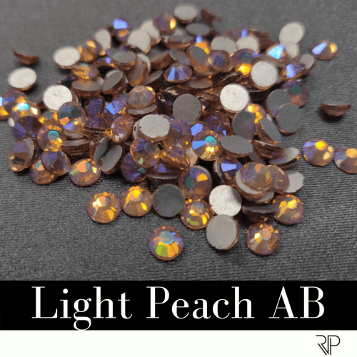 Light Peach AB Crystal Color Rhinestone (10 Gross Pack)