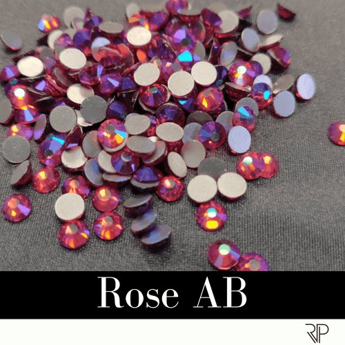 Rose AB Crystal Color Rhinestone (10 Gross Pack)