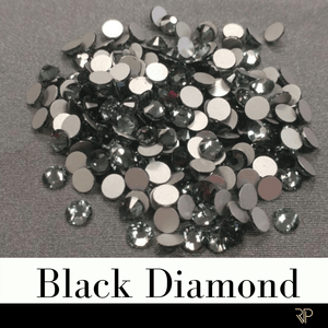 Black Diamond Crystal Color Rhinestone (10 Gross Pack)