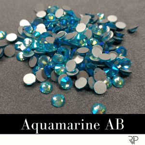 Aquamarine AB Crystal Color Rhinestone (10 Gross Pack)