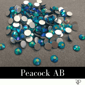 Peacock AB Crystal Color Rhinestone (10 Gross Pack)