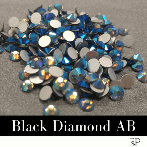 Black Diamond AB Crystal Color Rhinestone (10 Gross Pack)
