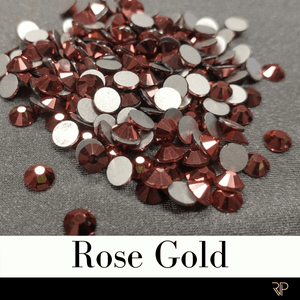 Rose Gold Color Rhinestone (10 Gross Pack)