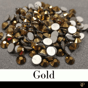 Gold Color Rhinestone (10 Gross Pack)