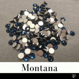 Montana Crystal Color Rhinestone (10 Gross Pack)