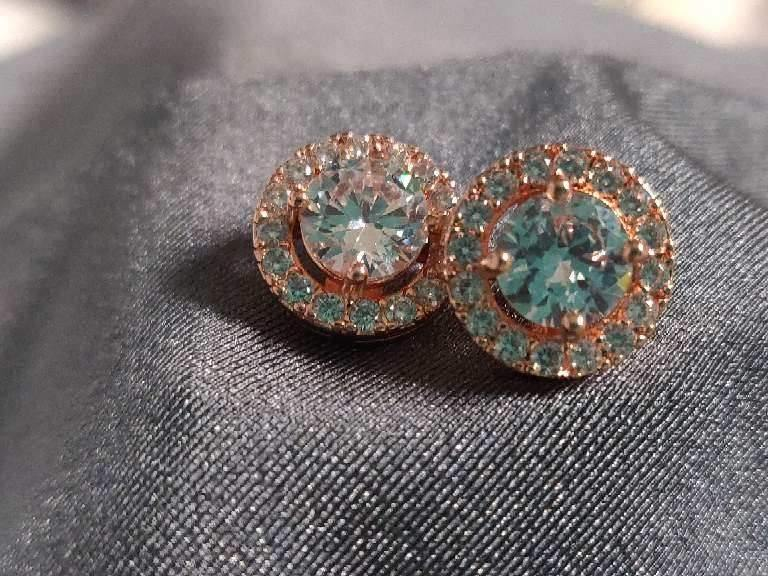 14mm Halo Earring
