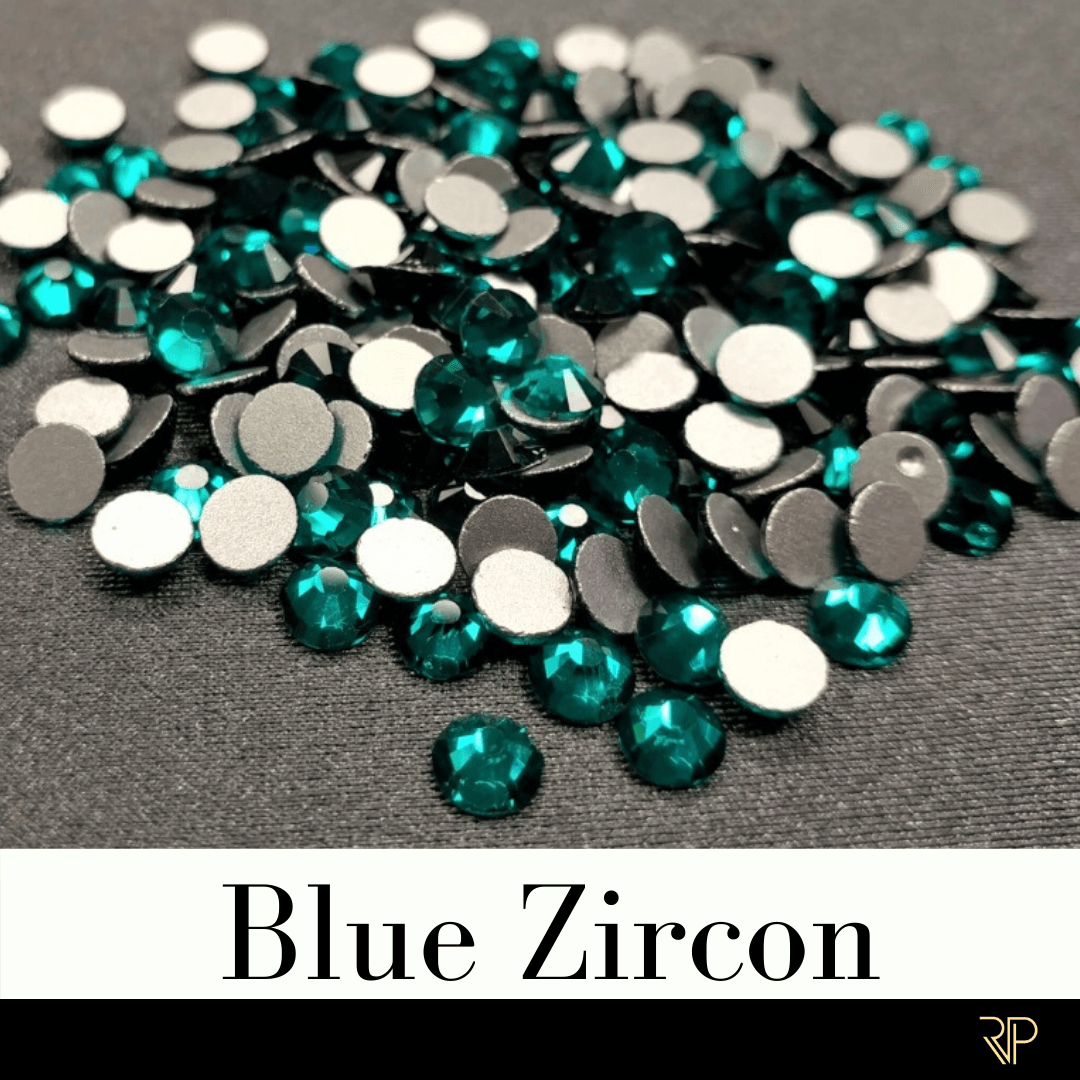 Blue Zircon Crystal Color Rhinestone (10 Gross Pack)
