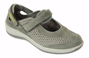 Footwear - Sanibel Mary Jane - Gray