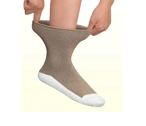 Socks - Padded Sole Sock - White