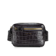 Vault Belt Bag Croc Flint