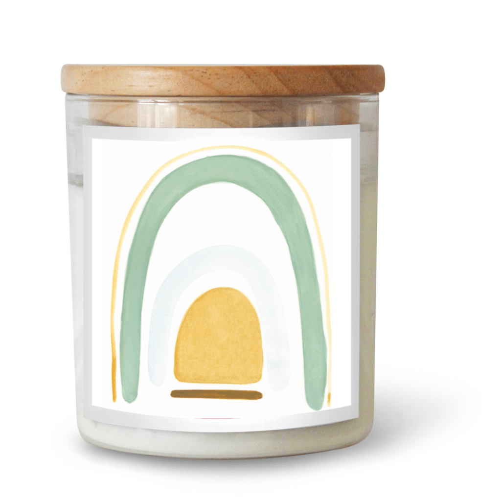 Sage Rainbow Soy Candle by Natalie Jade ~ The Commonfolk Collective - Actually Boutique