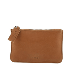 Village Leather Pouch ~ Tan - Actually Boutique