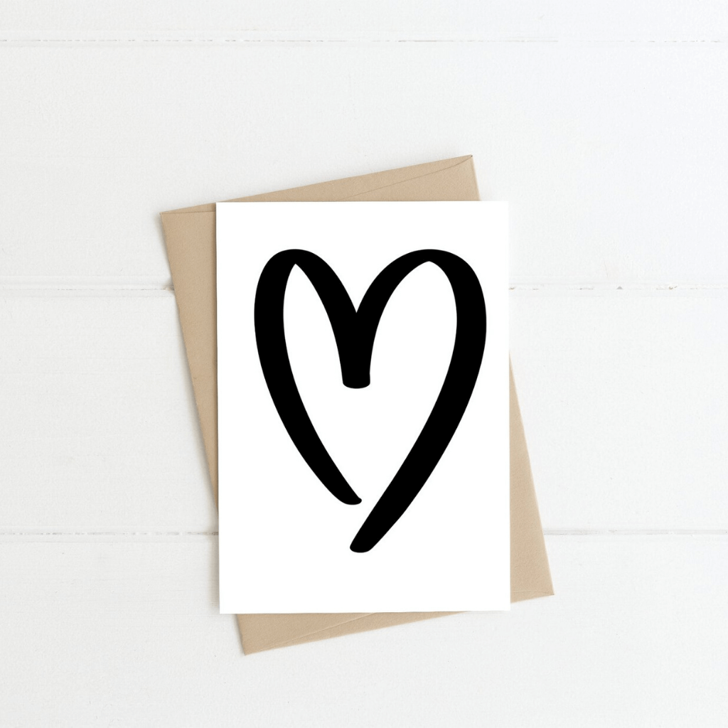 Love Heart ~ Greeting Card ~ K-Rae Designs - Actually Boutique