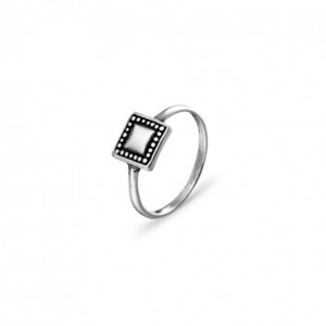 Square Ring ~ Sterling Silver - Actually Boutique