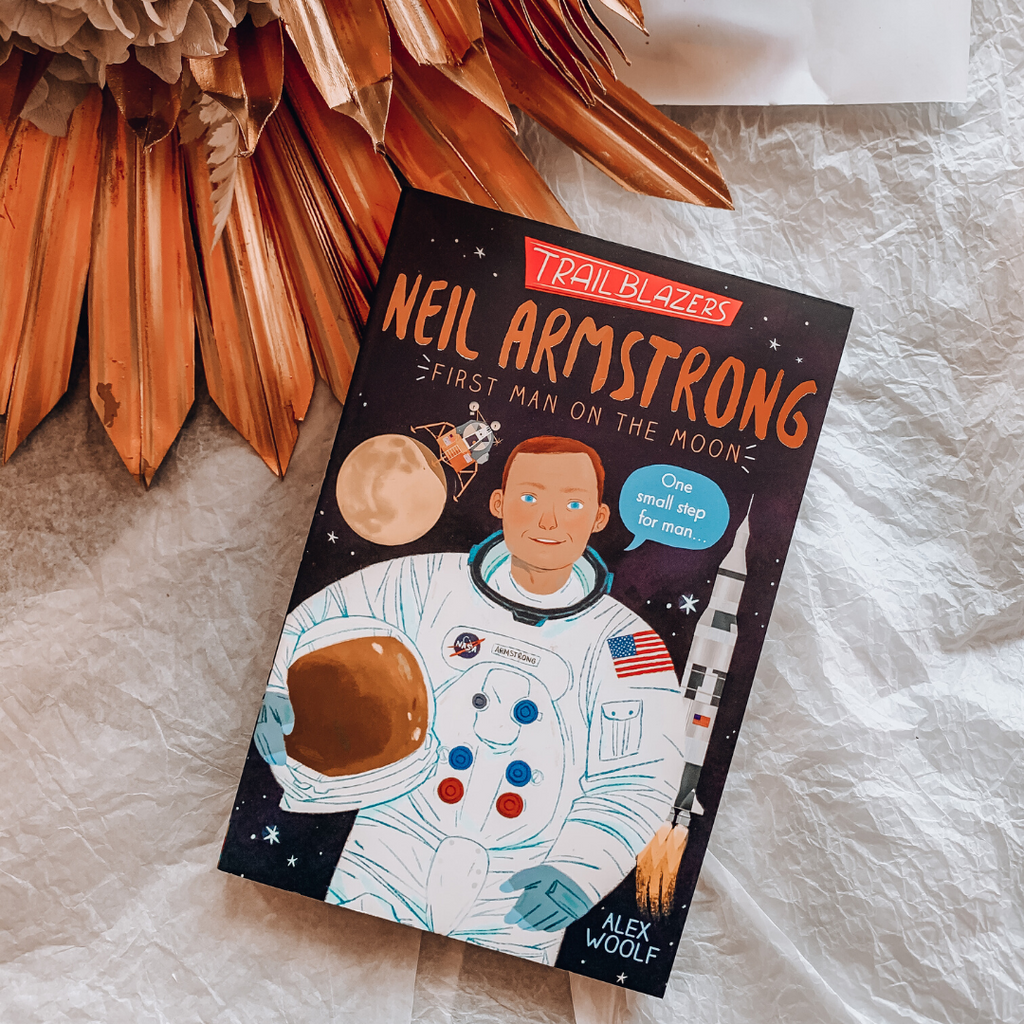Neil Armstrong ~ First Man On the Moon ~ Trailblazers ~ Alex Woolf - Actually Boutique