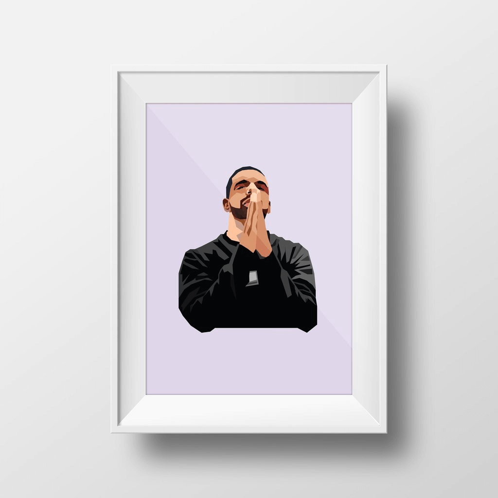 Champagne Papi ~ A3 Unframed ~ DG Designs - Actually Boutique