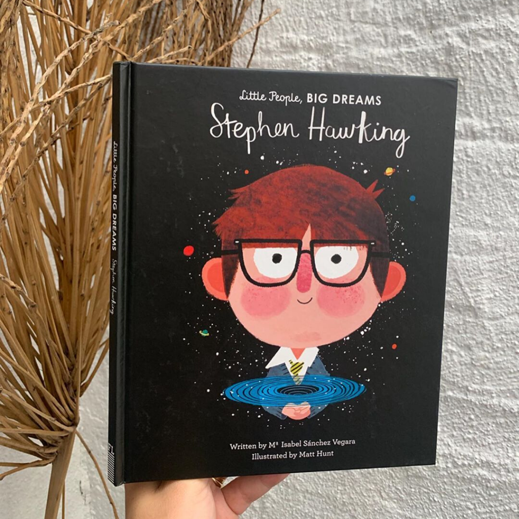 Stephen Hawking (Little People, Big Dreams) ~ Sanchez Vegara, Maria Isabel - Actually Boutique